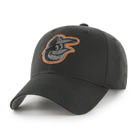 MLB Baltimore Orioles Black Mass Basic Adjustable Cap/Hat by Fan Favorite