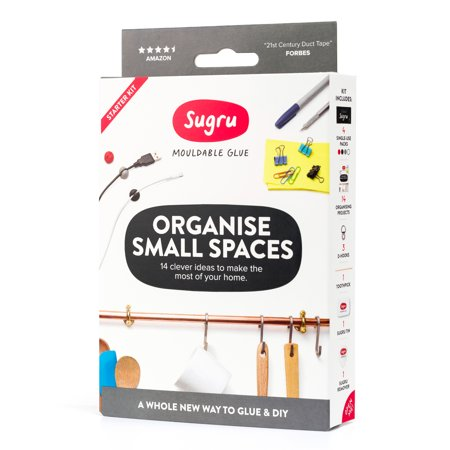 Sugru Mouldable Glue - Original Formula - Organise Small Spaces Kit