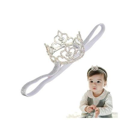 Toddler Girls Baby Rhinestone Crown Princess Tiara Headband for Little  Girls Birthday 354bf13da23