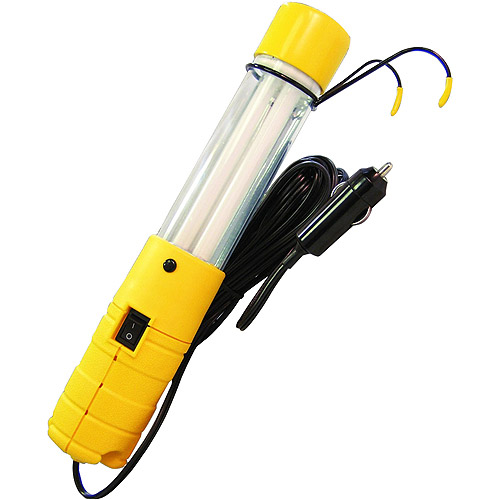 Bayco SL-512 12-Volt 13-Watt Fluorescent Work Light Multi-Colored