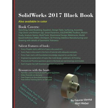 Solidworks 2017 Black Book (Cool Things To Make In Solidworks For Beginners)
