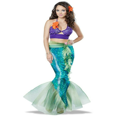 Mythic Mermaid Women's Adult Halloween Costume](Diy Mermaid Halloween Costume Women)