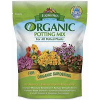 AP4 4-Quart Organic Potting Mix, All natural potting mix enhanced with myco-tone for all Potted plants By Espoma