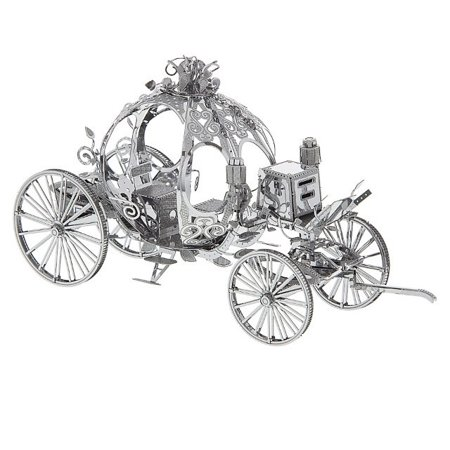 Disney Parks Cinderella Carriage Metal Model Kid 3D
