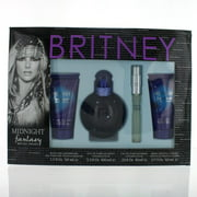 BRITNEY SPEARS WOMEN 4 PIECE GIFT SET - 3.3 OZ EAU DE PARFUM SPRAY by MIDNIGHT FANTASY