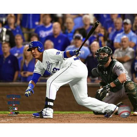 Print Photo Card - Salvador Perez game winning hit 2014 American League Wild Card Game Photo Print