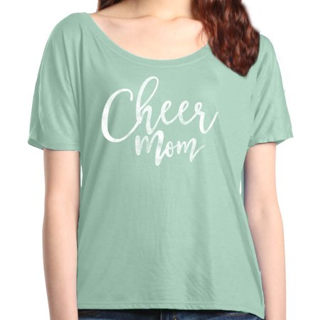 Shop4Ever Women's Cheer Mom Cheerleader Slouchy