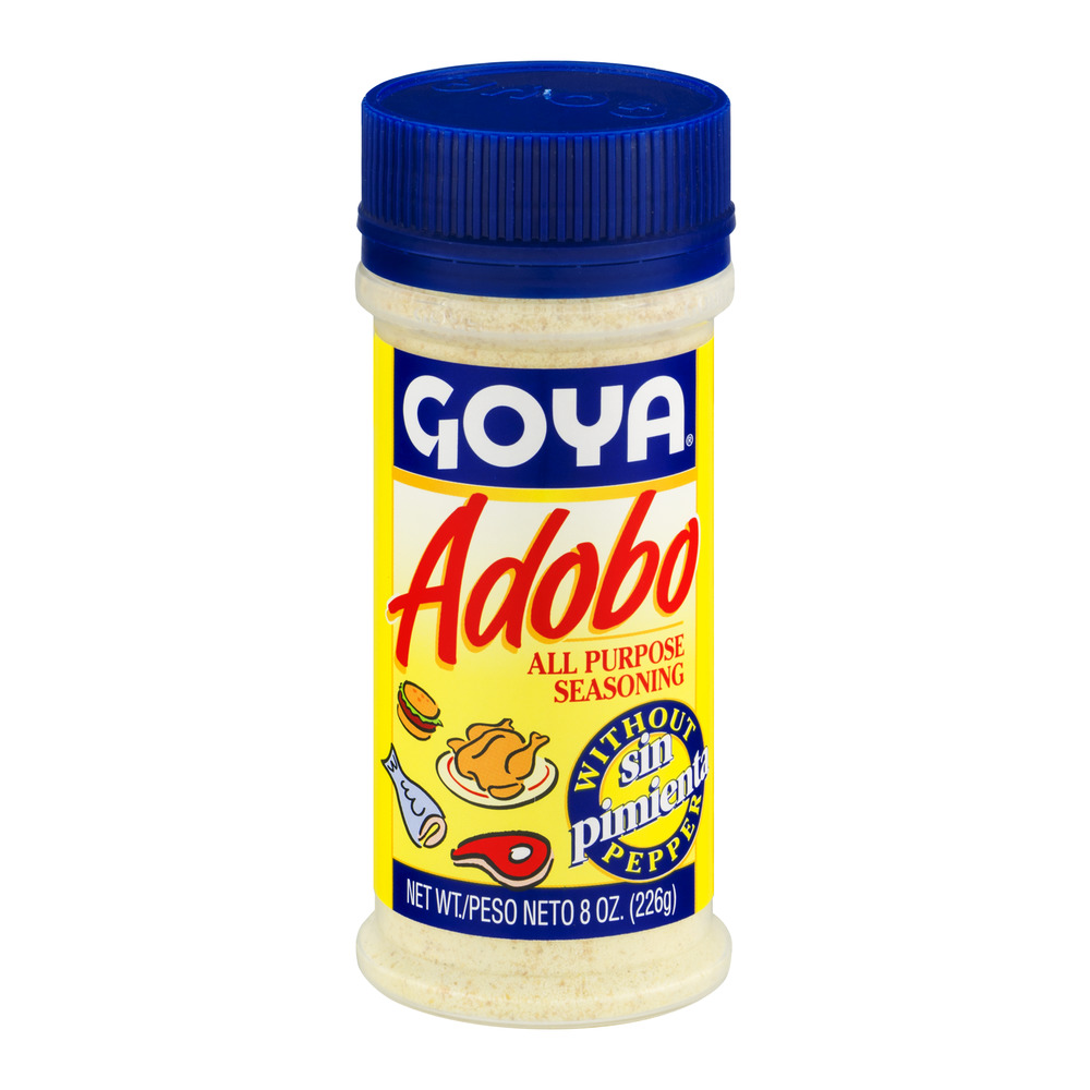 Goya Adobo All Purpose Seasoning without Pepper, 8.0 OZ by GOYA FOODS, INC.