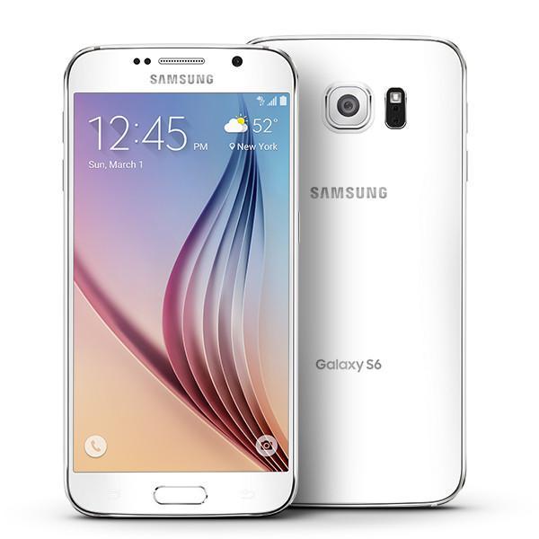 Samsung Galaxy S6 SM-G920T - 32GB - White Pearl (T-Mobile...