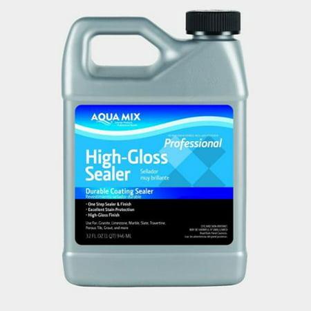 - Aqua Mix High Gloss Sealer - Quart