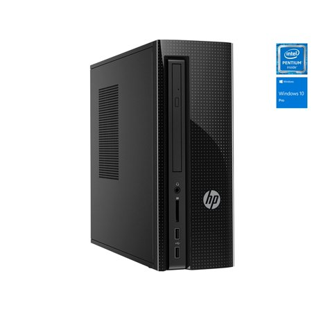 HP Slimline 260 SFF Desktop, Intel Quad Core Pentium J3710 Upto 2.64Ghz , 8GB DDR3L, 128GB SSD, DVD-RW, Wifi, Bluetooth, Dual Monitor Capable, Windows 10 Professional 64Bit