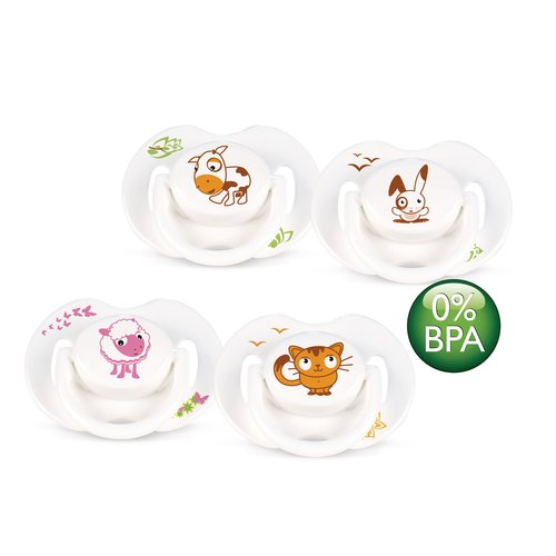 Avent Animal Pacifier, 2 pack, 0-6 months
