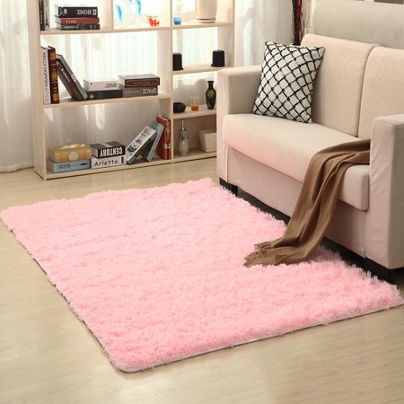 Rugs Soft Carpet Simple Carpets For Living Room Non-slip Bathroom Rug Rectangular Water Absorption ()