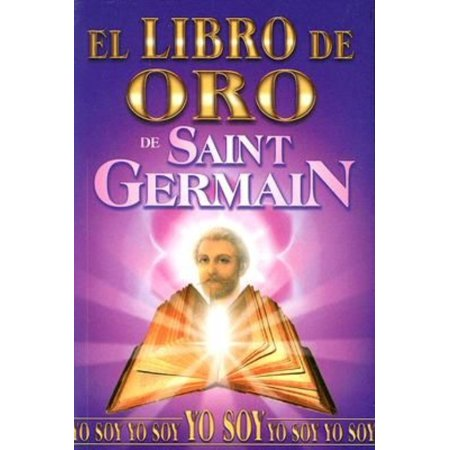 Libro De Oro De Saint Germain  Golden Book Of Saint Germain