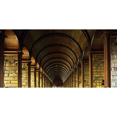 Thomas Burgh Library Trinity College Dublin Ireland Posterprint