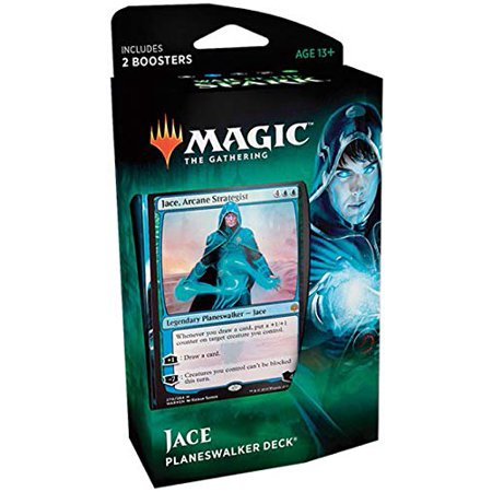Magic the Gathering War of the Spark Jace Planeswalker Deck (Magic The Gathering Blue Green Deck Standard)
