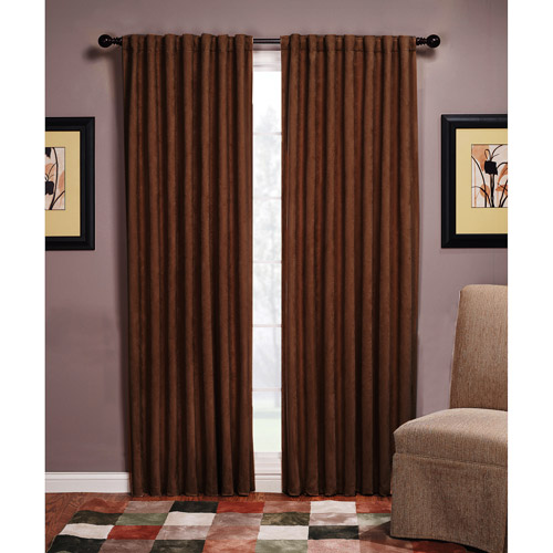 Austin Microsuede Blackout Energy-Efficient Curtain Panel