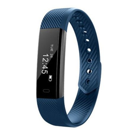 ID115 Smart Watch Bluetooth Heart Rate Wristband Smart Bracelet - Your Best Fitness Tracker - Sleep Monitor Passometer Band Alarm Clock Calories
