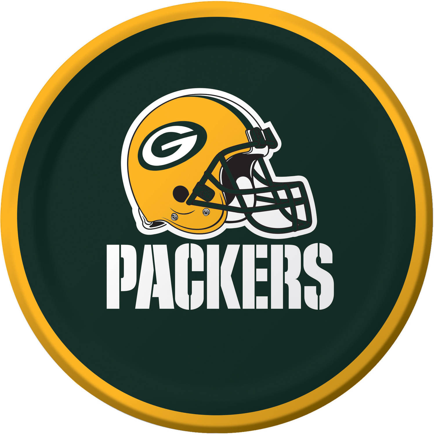 Green Bay Packers Dessert Plates, 8-Pack