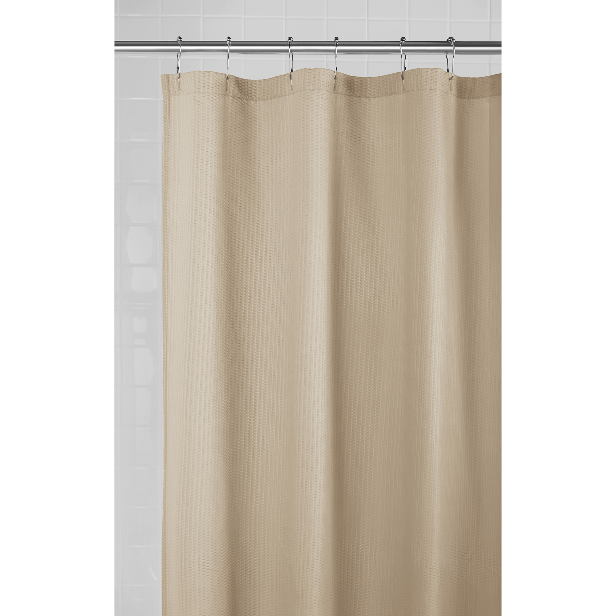 Mainstays Embossed Fabric Shower Liner 1 Each