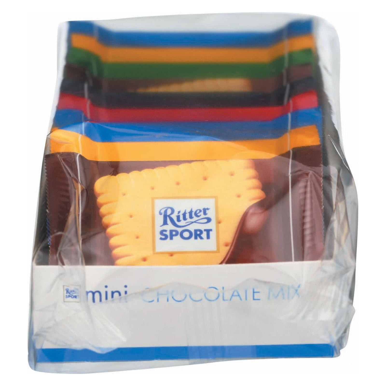 Ritter Sport Mini Chocolate Mix - 9 Pc - pack of 12 - 5.3 Oz