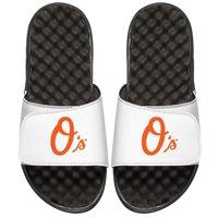 Baltimore Orioles ISlide Youth Alternate Logo Slide Sandals - White