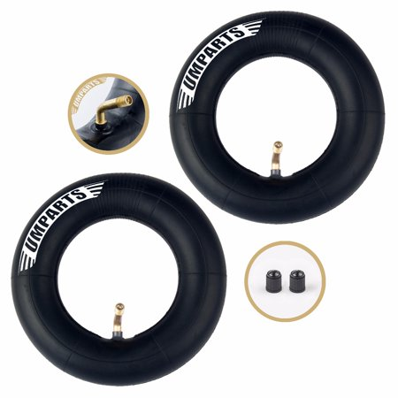 (Set of 2) Pulse Performance Products Sonic XL Electric Scooter front and rear 200x50 wheel tire inner tube innertube replacement ()