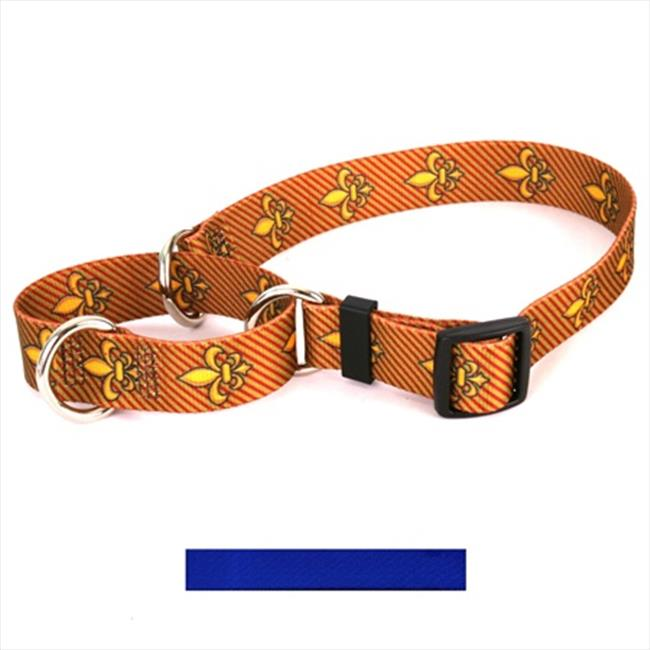 Yellow Dog Design M-RBL101S Solid Royal Blue Martingale Collar - Small