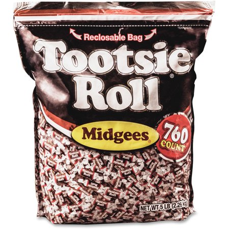 Tootsie, AVTSN884580, Advantus Roll Midgees Candy, 1