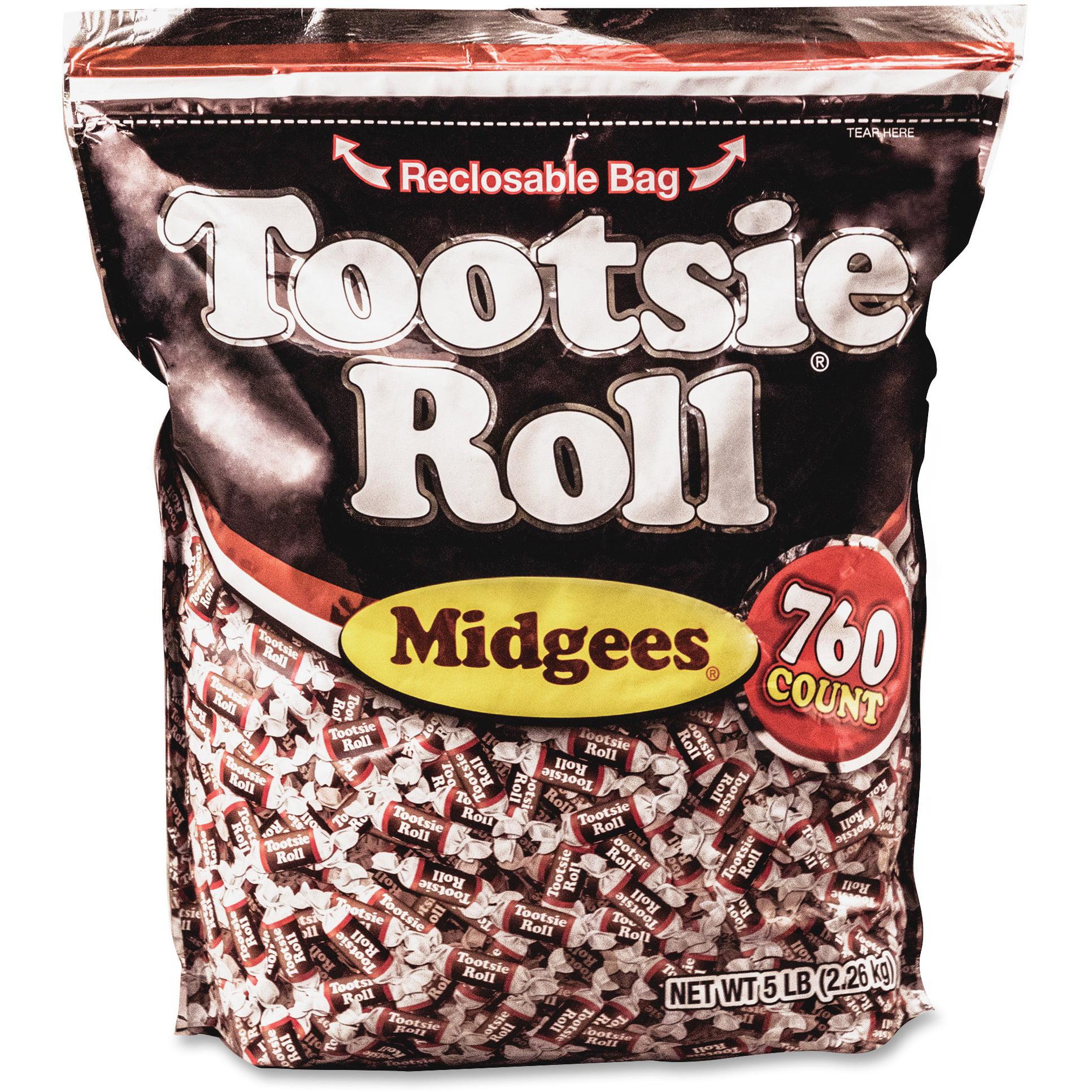 Tootsie, AVTSN884580, Advantus Roll Midgees Candy, 1 Bag