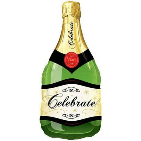 Qualatex Celebration Bubble Champagne Bottle 39