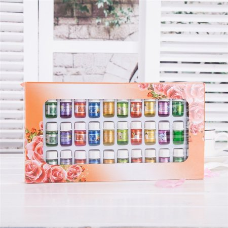 A Pack Of 36 Fragrance Oil Aromatic Perfume Oils in 12 Various Scents 3ML Each Bottle