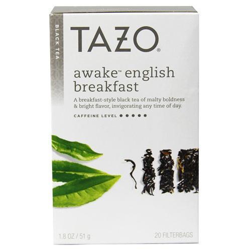 Black Tea-Awake English Breakfast Tazo Teas 20 Bag