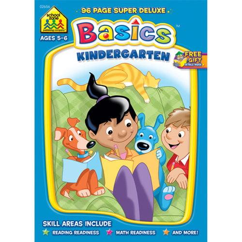 Kindergarten Basics 96 Page Workbook