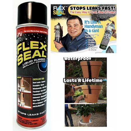 As Seen On Tv Flex Seal Liquid Rubber Sealant Black