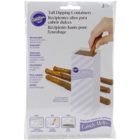 Wilton Candy Dipping Tools: Tall Chocolate Dipping Containers