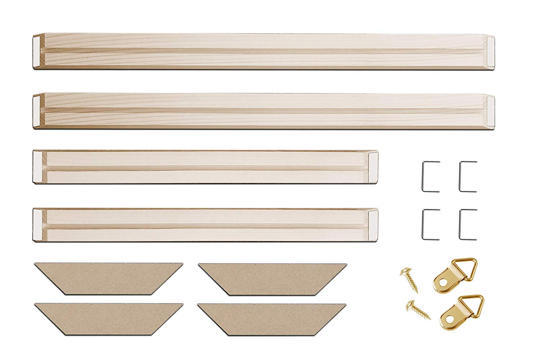 Canvas Frame Kit 30 X40 Inch Stretcher Bar For Oil