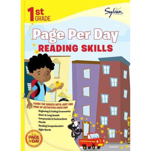 1st Grade Page Per Day: Reading Skills
