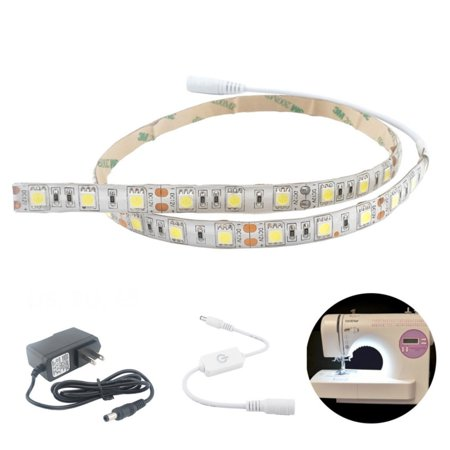 Bonlux dimmable led strip lighting kit for sewing machine bonlux dimmable led strip lighting kit for sewing machine attachable and fits all sewing machines aloadofball Image collections