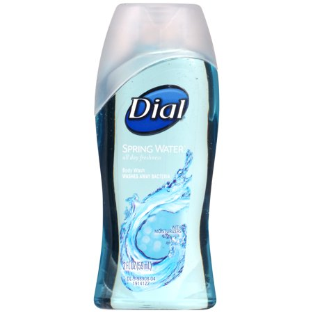 Dial Body Wash, Spring Water, 2 Ounce