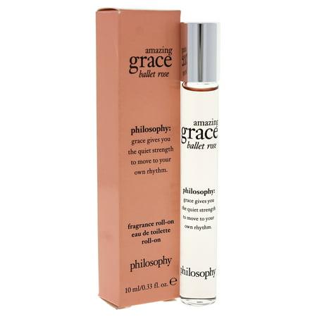 - Amazing Grace Ballet Rose by Philosophy for Women - 0.33 oz Rollerball (Mini)