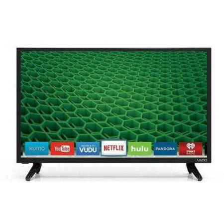 Refurbished VIZIO D24-D1 24″ 1080p 60Hz LED Smart HDTV