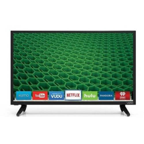 "Refurbished VIZIO D24-D1 24"" 1080p 60Hz LED Smart HDTV"