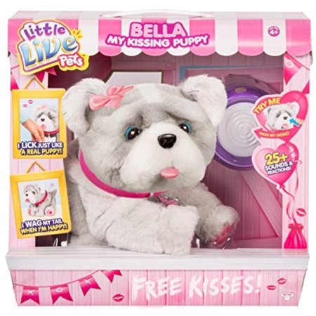 Bella My Kissing Puppy Dog Interactive Little Live Pet Exclusive