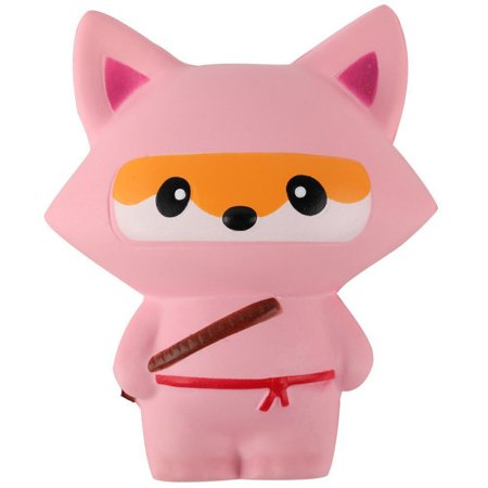 Tinymills 1 Pcs Squishy Toys for Kid Lovely Ninja and Small Animals Stress Relief Toys Funny - Stress Relief Gift