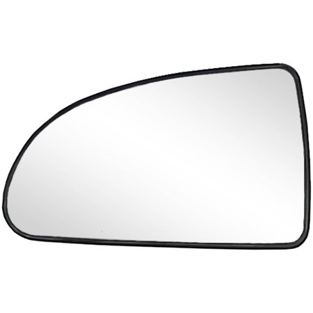 88148 - Fit System Driver Side Non-heated Mirror Glass w/ backing plate, Chevrolet Cobalt 05-10, Pontiac G5 07-09, 4 11/ 16