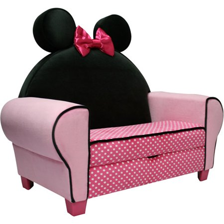 Disney Minnie Mouse Deluxe Sofa With Storage Walmart Com