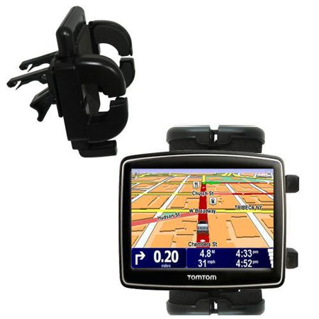 Gomadic Air Vent Clip Based Cradle Holder Car / Auto Mount suitable for the TomTom XL 340 - Lifetime Warranty