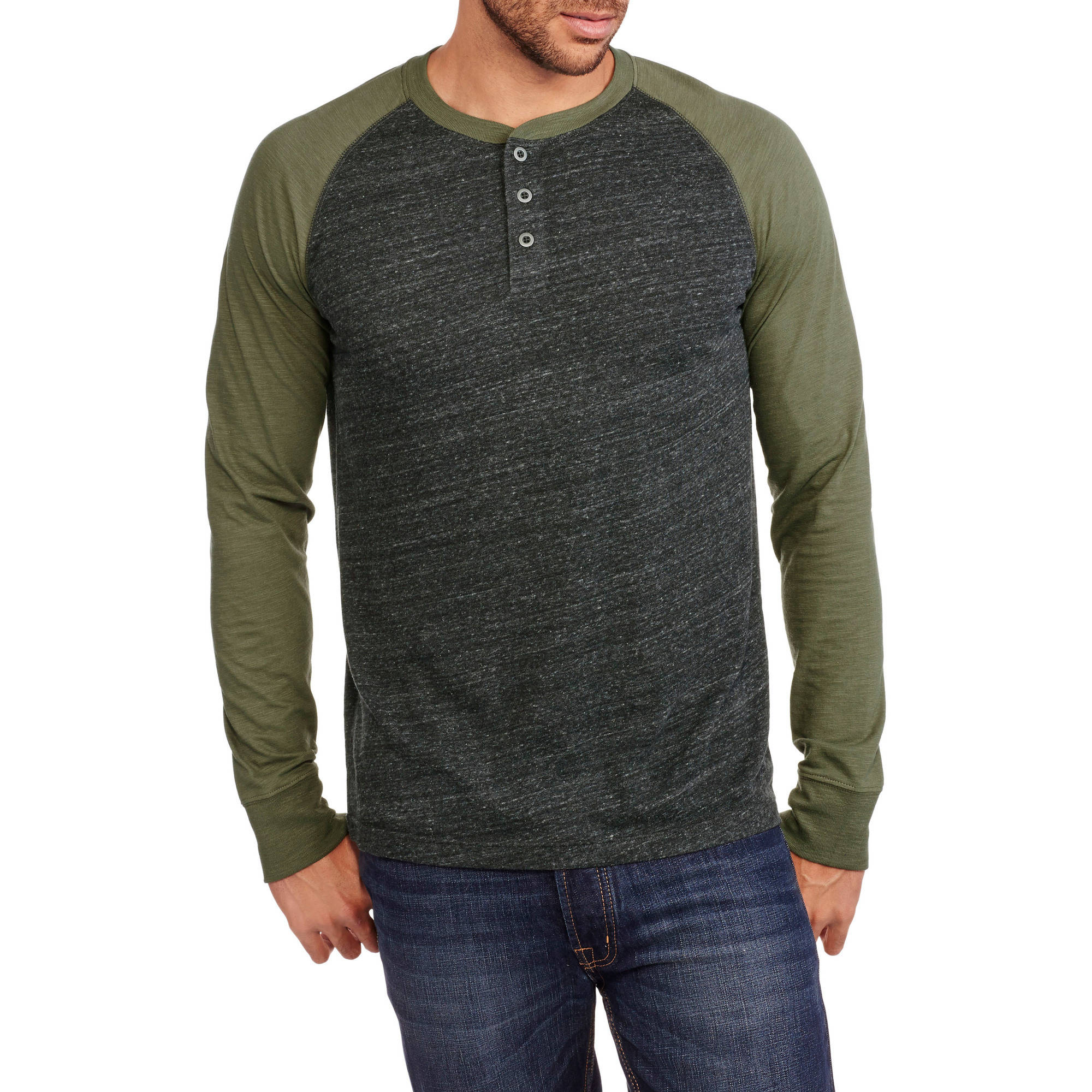 Faded Glory Men's Henley
