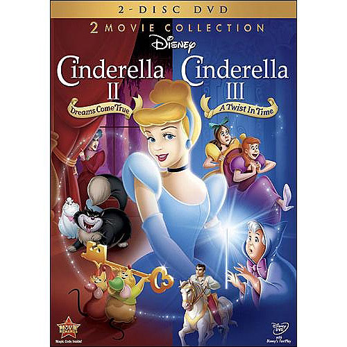 Cinderella II: Dreams Come True / Cinderella III: A Twist In Time (Special Edition 2-Movie Collection) (Widescreen)